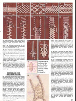 Эскизы прикрепленных изображений.  Sarta.  Еще можно кружево для отделки связать иголкой. украсит любое изделие и...