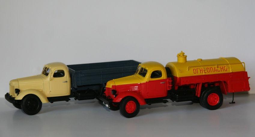ЗиС-150 и ЗиЛ-164 в масштабе 1:43 от фирмы DiP Models (Адлер)