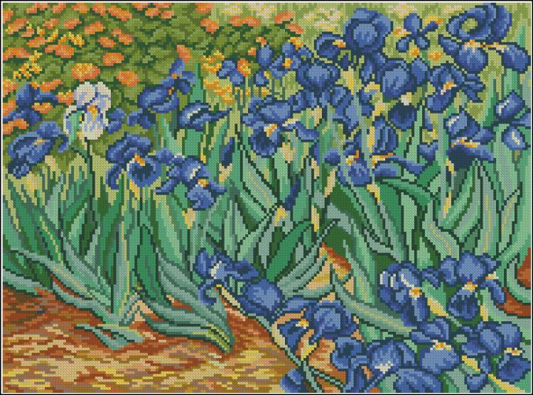 Gallery.ru / Ирисы (Ван Гог)