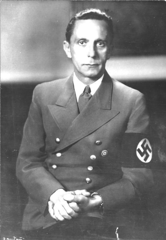 Пауль йозеф геббельс биография члена высшего