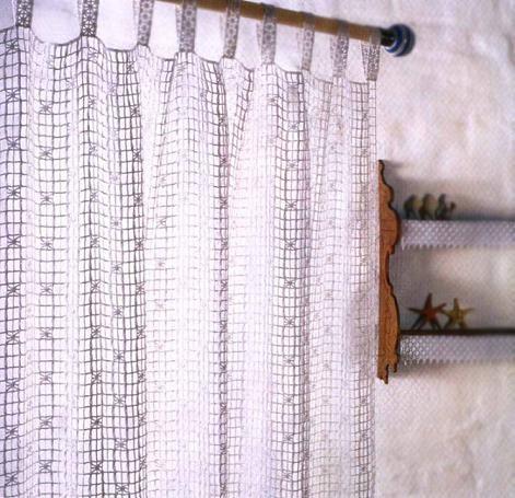 Занавески.Филейное вязание