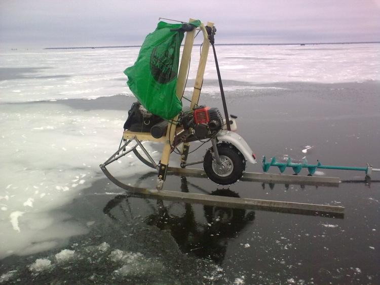 ремонт рыбацких саней