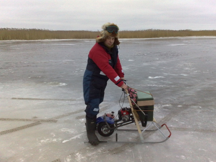 Сани для зим рыбалки своими руками