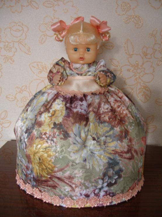 Кукла на чайник фото