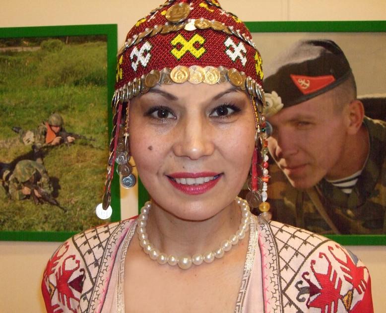 Светлана ХАРДОВА, исполнительница чувашских народных песен