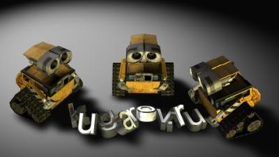 3D Model - Wall-E скачать