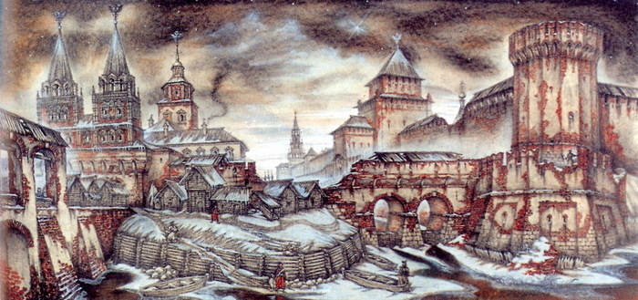 Стены и башни Китай-города, ч.1