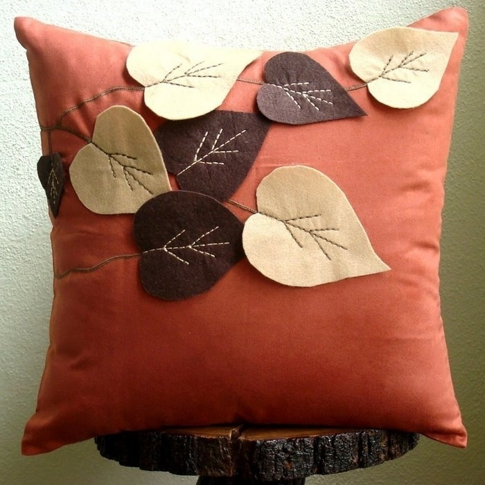 Декоративные подушки на диван своими руками мастер класс фото