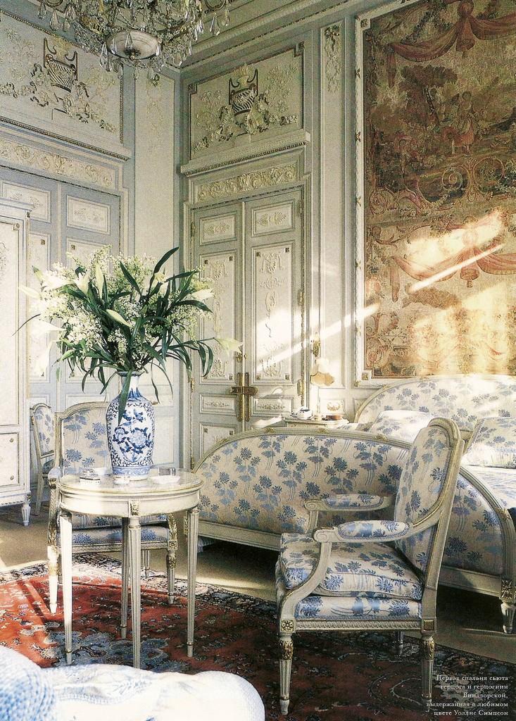 Coco chanel bedroom