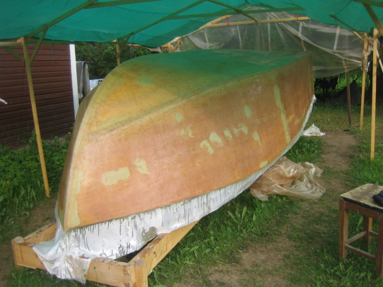 лодка из пенополистирола и стеклоткани форум