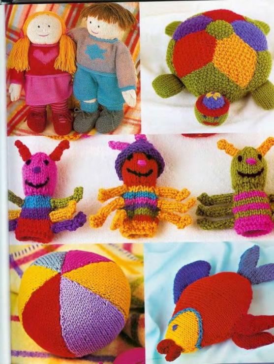 Вязание крючком игрушек своими руками