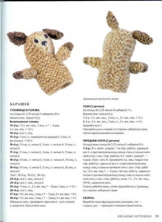 Вязание спицами игрушки схемы описание 61